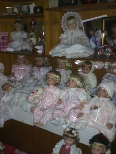 Some of My Beautiful Wakeen Doll Collection! :-)