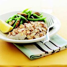 Appealingly mild and lean, tilapia still has plenty of heart-healthy omega-3 fats. #myplate #protein #vegetables