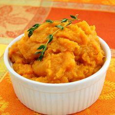 mashed Sweet Potatoes #mashed #potatoes