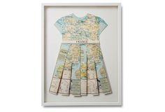 Wolfe, Folded Map Dress, France