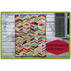 Indie+Vibrations+Quilt+Pattern+by+DuringQuietTime+on+Etsy,+$6.50