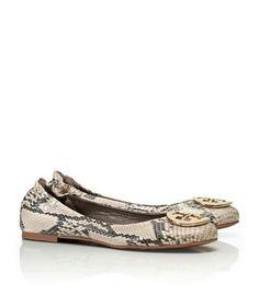 Python Printed Reva Ballet Flat | Womens Flats | ToryBurch.com