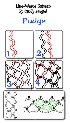 Pudge Tangle by Paint Chip, via Flickr