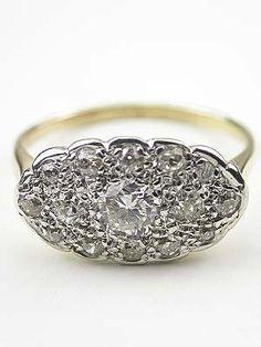1940s Princess Ring