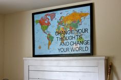 Change your thoughts and change your world.