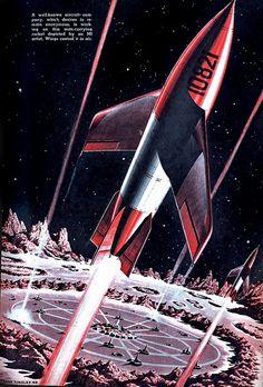 1948 ... Moon base strikes! by x-ray delta one, via Flickr