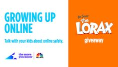 GIVEAWAY: WIN a Dr. Seuss' THE LORAX DVD & Blu-ray Combo Pack - ENDS 9/26 #GrowingUpOnline