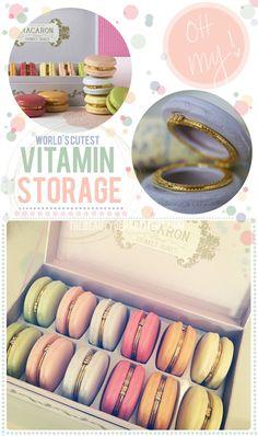 macaron storage