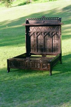 Viking Bed - Reclaimed Wood - Reader's Gallery - Fine Woodworking