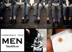 Coordinate Your Men — Today's Bride