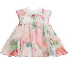 BEAUTIFUL floral dress by Cavalli baby lullabi, easter dress, peanut, roberto cavalli, gorgeous babi, elsa, kinder klede, caval babi, floral dresses