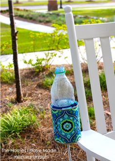 outdoor cup holder that I need to make for outside this summer :)
