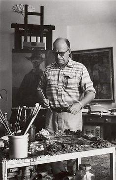 David Moore  (Australia 06 Apr 1927–23 Jan 2003)    Title  Russell Drysdale, Australian Artist Woollahra  Year  1964