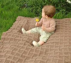 free pattern, pie crusts, crust babi, blanket free, baby blankets, free blanket knitting patterns, babi blanket, knit pattern