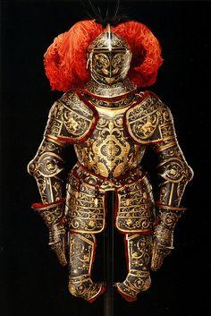 Eliseus Libaerts (Antwerp), Parade Armor, c1562 [now in Dresden]