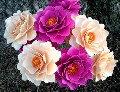 Paper Flowers - Wedding - DIY - Bouquets