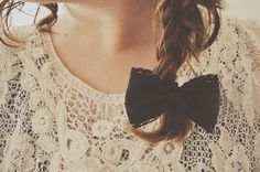 lace and bow