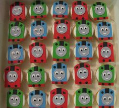 awesome cupcakes! Thomas and friends