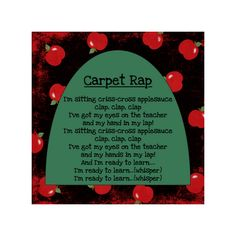 carpet rap