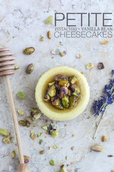 Fair warning: Once you try these petite pistachio and vanilla bean cheesecakes by Kailley of Kailley's Kitchen, you'll have a hard time going back to plain cheesecake.