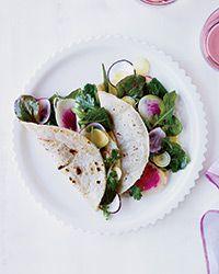 garden salad tacos, water gardens, food, taco recipes