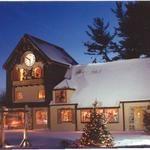 Santa Claus training academy!!!  Adorable.    ~ A December night at the Santa House in Midland, Michigan.
