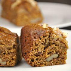 Slow Cooker Pumpkin Bread with Walnuts