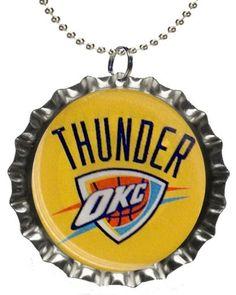 OKC Thunder Necklace.