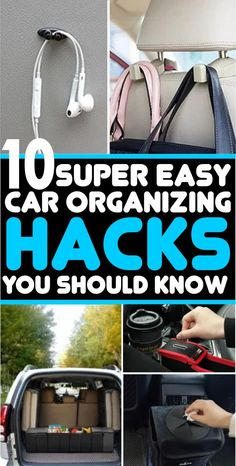 10 Car Organizing Hacks That Are Seriously Super Easy | ONE DOES SIMPLY