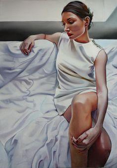 artist Zofia Blazko, oil