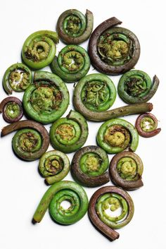 Stir-Fry Fiddleheads