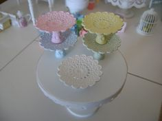 miniature cake stands
