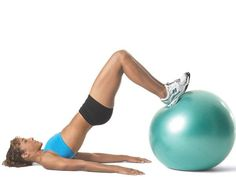The stability ball hamstring curl is a great legs move. You'll feel it the next day for sure!