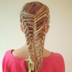 three strand braided