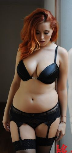 I wouldn't normally pin something like this, but this just goes to shoe that you don't have to be skinny to be SEXY!