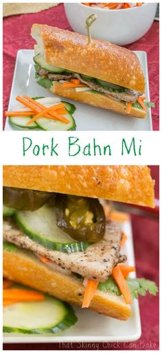 Grilled Pork Báhn Mì