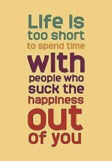 Life is to Short.............