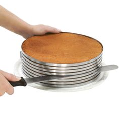 Cake layer cutter - this would be so handy to have! I need this!