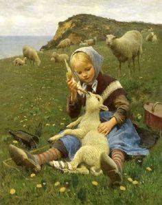 """Feeding the Lamb"" Hans Ole Brasen"