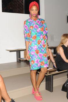 nima ford model  | Best-dressed at New York Fashion Week - Telegraph