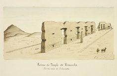 """""""Ruines du Temple de Viracocha,"""" Paul Fédéric Chalon, 1872-1880"""