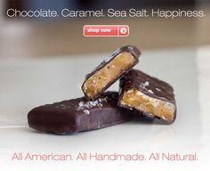 chocolate. caramel.  sea salt.  happiness.