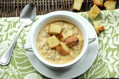 Cheesy Pumpkin & Sausage Soup Recipe