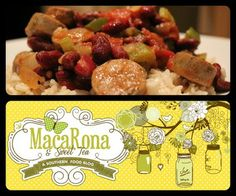 MacaRona and Sweet Tea: Celebrate Mardi Gras with  Cajun Red Beans and Rice in your crock pot