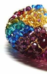Gypsy's Ramblings: Tutorial-RAW and netted bracelet