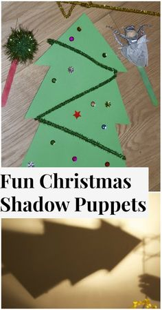 Fun Christmas Shadow Puppets #Science #Christmas #KidsActivities
