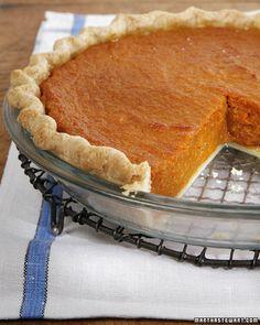 Sweet Potato Pie - Martha Stewart Recipes