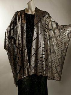 silvered assuit (egyptian) cloak