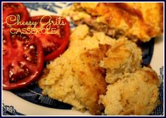 Sweet Tea and Cornbread: Cheesy Grits Casserole!