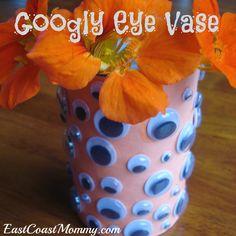 Googly Eye Vase